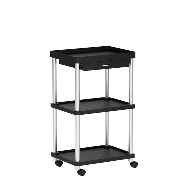 Mind Reader 'Valet' 3 Tier Rolling Bar Cart by Mind Reader