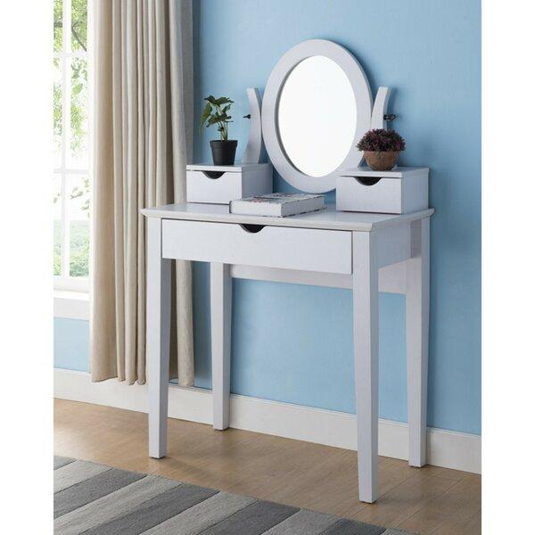 Copenhaver Vanity with Mirror by Ebern Designs