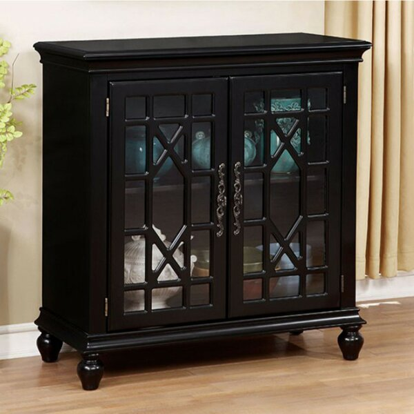 Carner Transitional Storage China Cabinet by Alcott Hill
