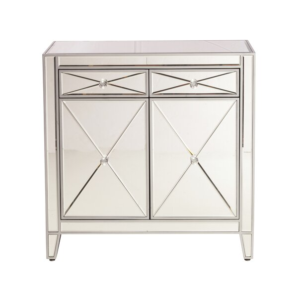 Arabelle Mirror Nightstand by Design Tree Home