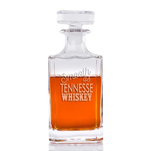 Faust Smooth As Tennessee Whiskey Classic 26 oz. Decanter by Loon Peak