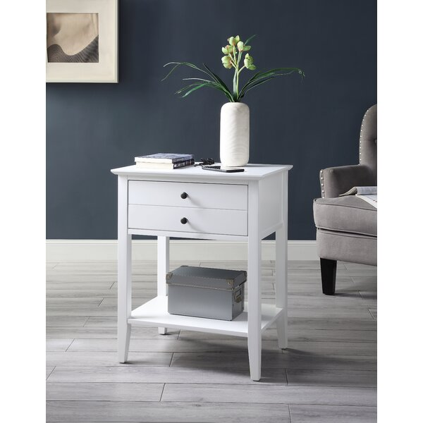 Quidel End Table With Storage By Ebern Designs