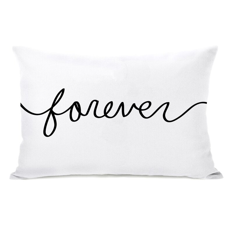 Forever Mix and Match Reversible Lumbar Pillow