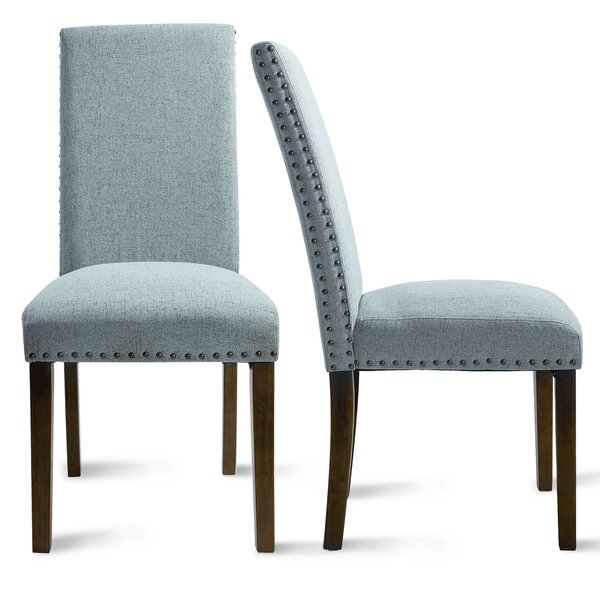 Croton Upholstered Parsons Chair (Set Of 2) By Red Barrel Studio