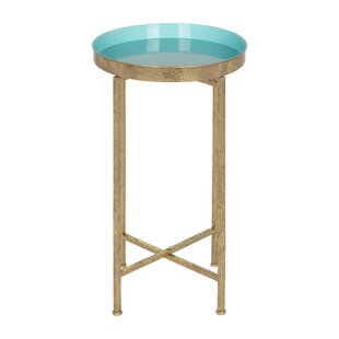Kriebel Round Metal End Table