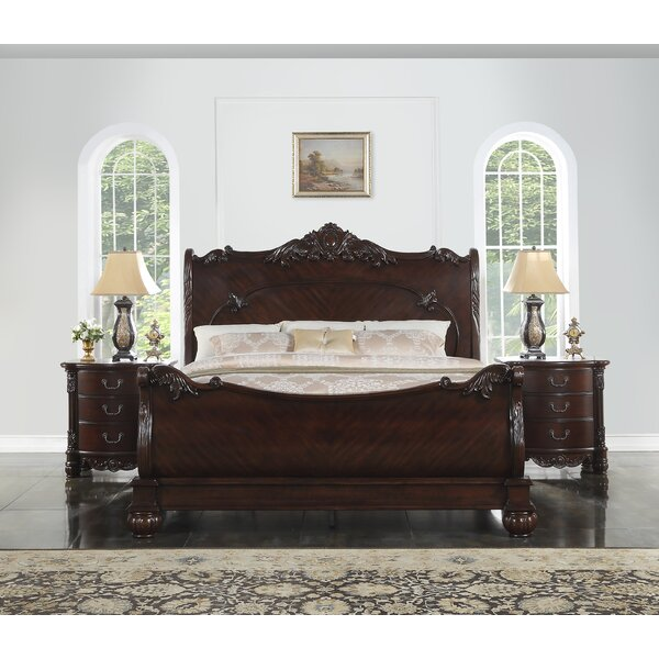 Treyton Sleigh Bed by Astoria Grand