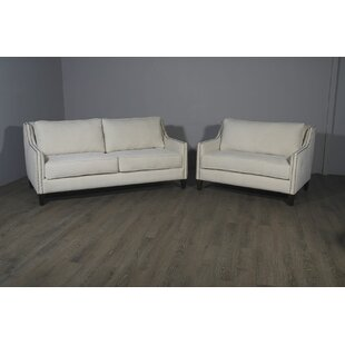 Woodell Suede Sofa