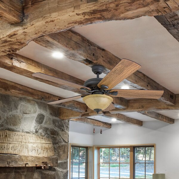 52 Tynes 5 Blade Ceiling Fan by Millwood Pines