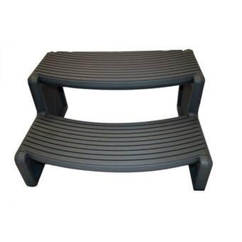 Phenomenal Storage 2 Step Step Stool Machost Co Dining Chair Design Ideas Machostcouk