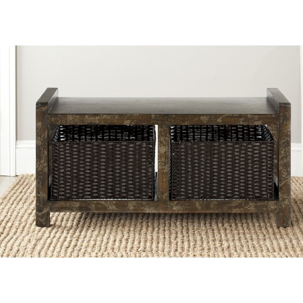 Arnold Storage Bench by Safavieh