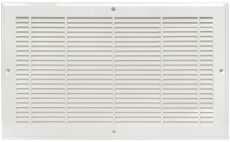 Plastic Baseboard Grille in White (Set of 10) by Imperial Manufacturing