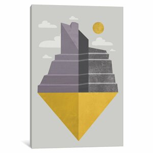 'Grand Canyon' Graphic Art on Wrapped Canvas by East Urban Home