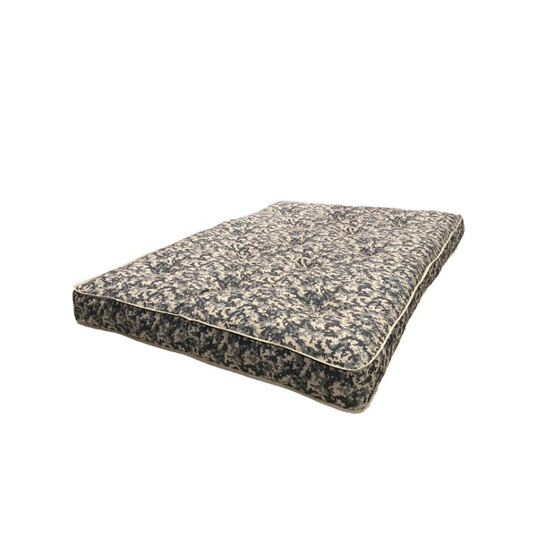 Hook Camouflage Futon Mattress by Ebern Designs