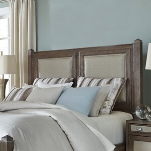 Biscayne West Upholstered Panel Headboard by Michael Amini (AICO)