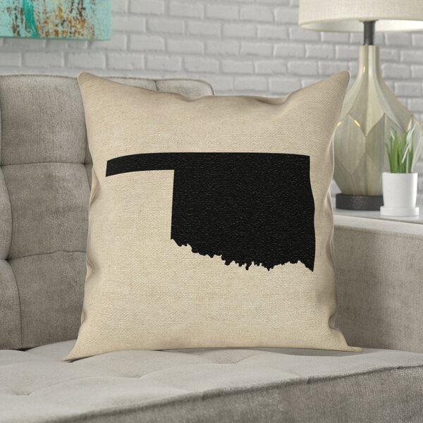 Austrinus Oklahoma Pillow in , Spun Polyester Double Sided Print/Throw Pillow