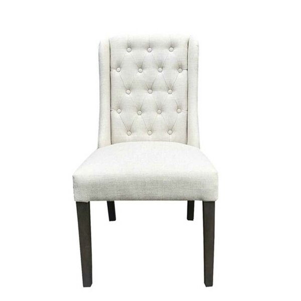 Natick Upholstered Dining Chair (Set of 2) by Canora Grey