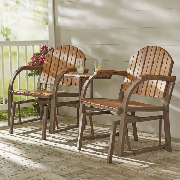 Allerton Slat Rocking Chair by Darby Home Co