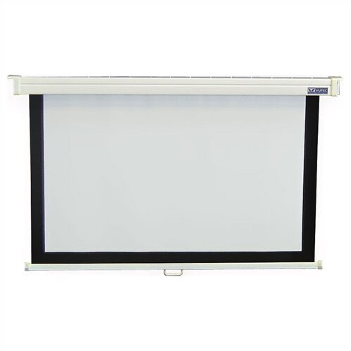 Consort Deluxe Matte White Manual Projection Screen by Vutec