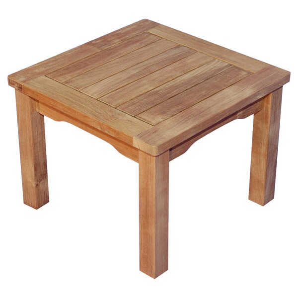 Mission Solid Wood Side Table by Regal Teak