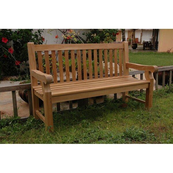 Devonshire Teak Garden Bench by Anderson Teak