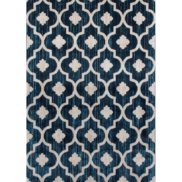 Loft Blue Area Rug by World Rug Gallery