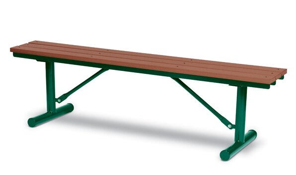 Iron Picnic Bench by Wabash Valley