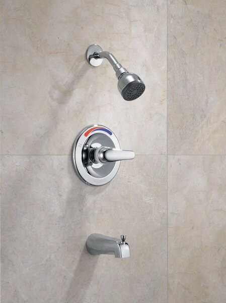 Core Pressure Balance Tub and Shower Trim with Single Lever Handle by Peerless Faucets Peerless Faucets
