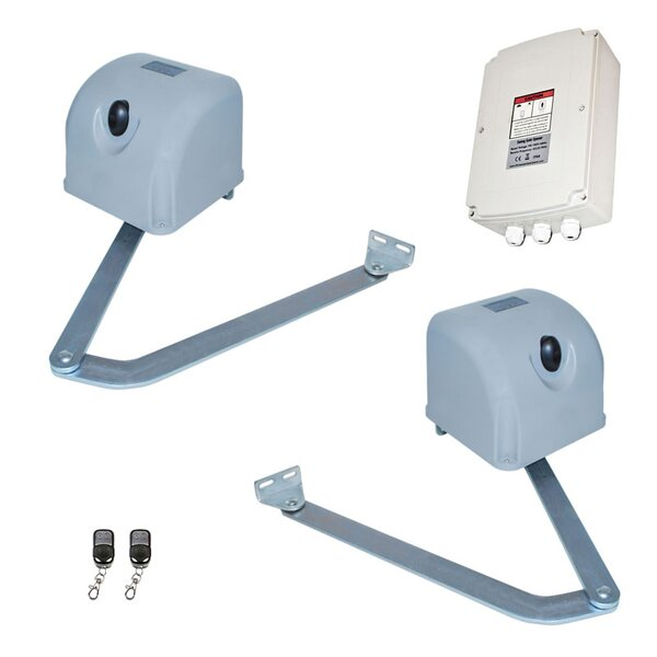 Articulated Gate Opener for Dual Swing Gates Back-up Kit by ALEKO