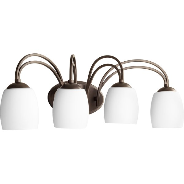 Mcguire 4-Light Vanity Light by World Menagerie