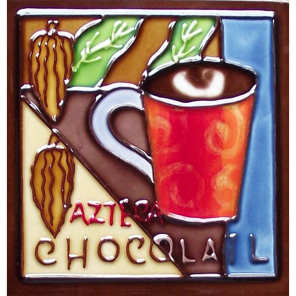 Coffee Tile Magnet by Continental Art Center