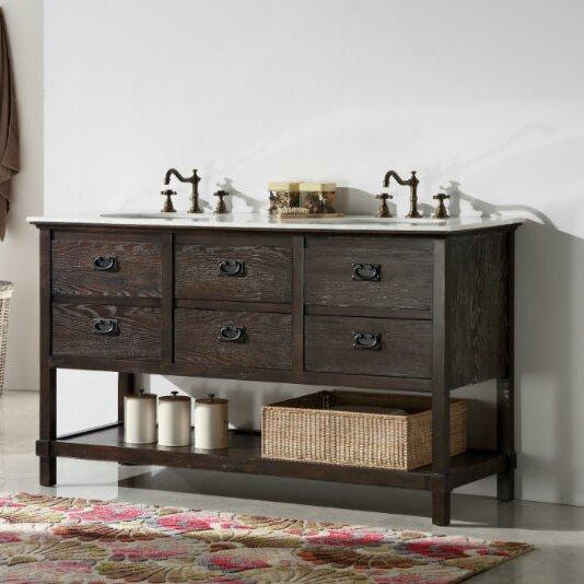 Mckain 60 Double Bathroom Vanity Set