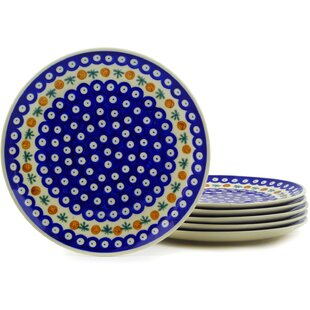 Polish Pottery Mosquito 10  Dinner Plate (Set of 6)  sc 1 st  Wayfair : polish dinnerware sets - Pezcame.Com
