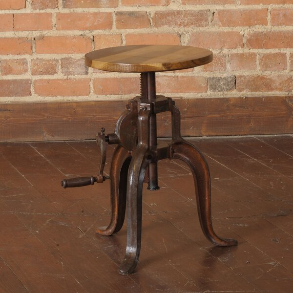 Mill Adjustable Height Bar Stool by William Sheppee