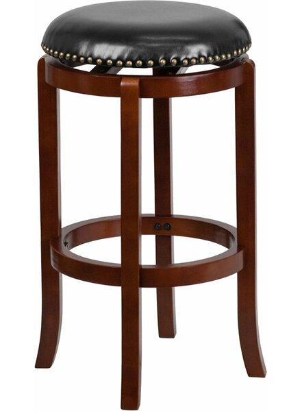 Jenkin Backless 29'' Swivel Bar Stool by Charlton Home