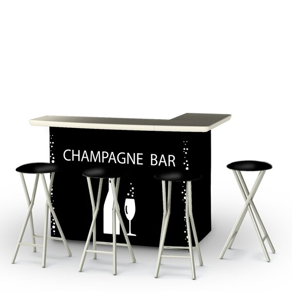 Champagne 7 Piece Bar Set by Best of Times