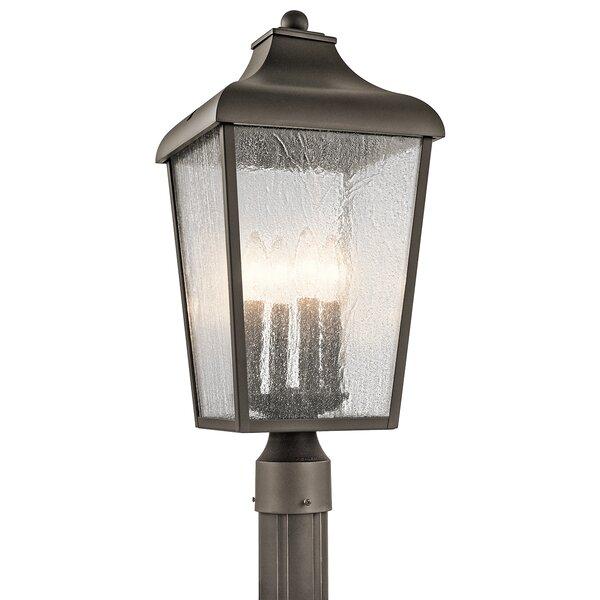 Harpole 1-Light Outdoor Post Light by Three Posts