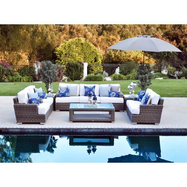 Catalina Deep Seating Sunbrella Seating Group with Cushions
