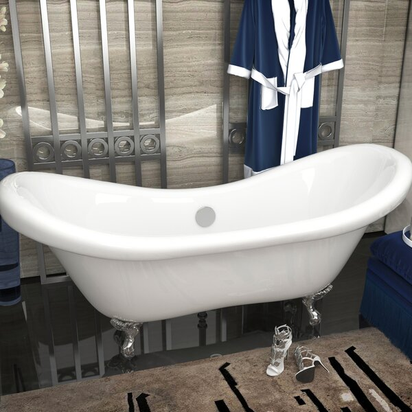 Aegis 68.75 x 28.75 Freestanding Soaking Bathtub by ANZZI