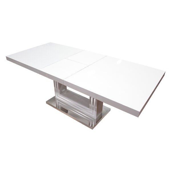 Knott Modern Extendable Dining Table by Orren Ellis Orren Ellis