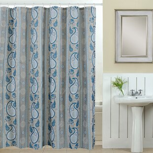 Spa 13 Piece Printed Shower Curtain Set By Luxury Home