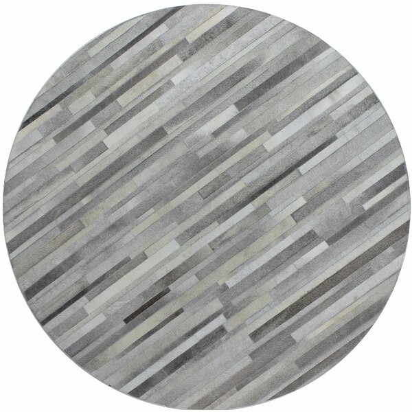 Tuscon Hand-Crafted Grey Area Rug by Bashian Rugs
