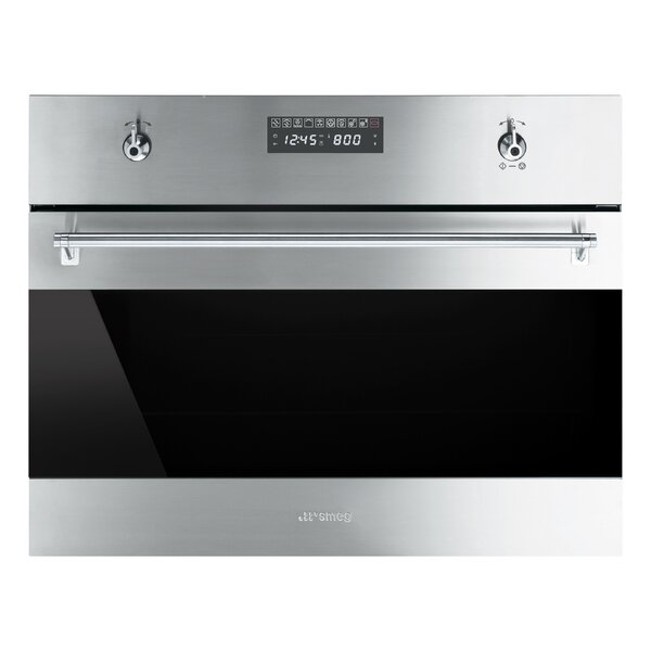 24 Convection Electric Single Wall Oven Microwave Functionality by SMEG