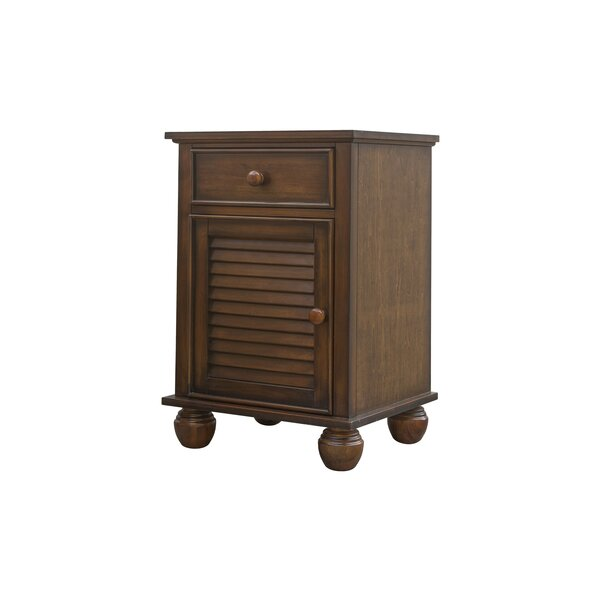 Jamarais 1 Drawer Nightstand by Bayou Breeze