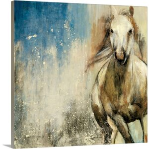 Horses I by PI Studio Painting Print on Wrapped Canvas by Great Big Canvas