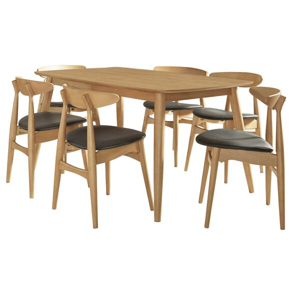 Buffum 7 Piece Dining Set by George Oliver