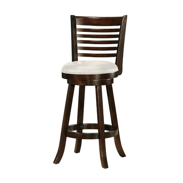Leakey 29 Swivel Bar Stool (Set of 2) by Latitude Run