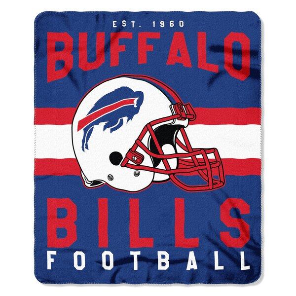 NFL Buffalo Bills Printed Fleece Throw by Northwest