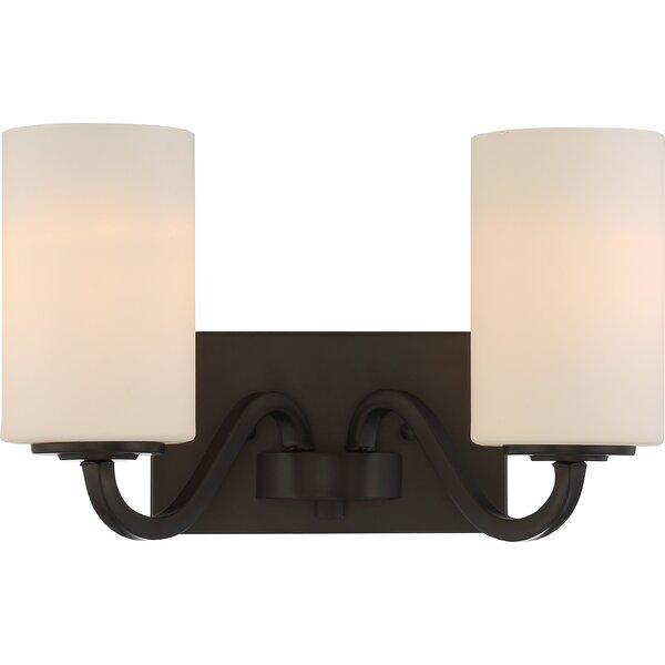 Tillson 2 Light Vanity Light [Charlton Home]