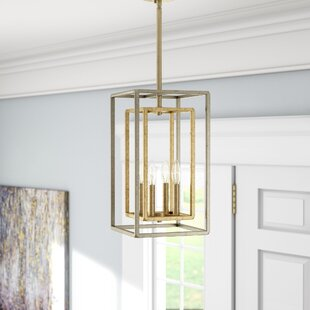 Great choice Eglantina 4-Light Square/Rectangle Pendant By Willa Arlo Interiors