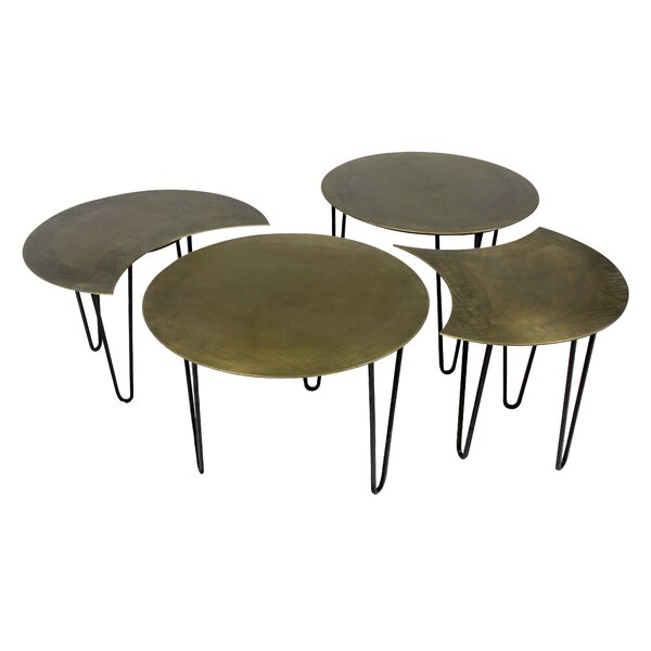 Sanderlin 4 Piece Coffee Table Set by Brayden Studio